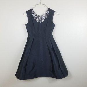 Kate Spade Black A line Embellished Dress Size 4
